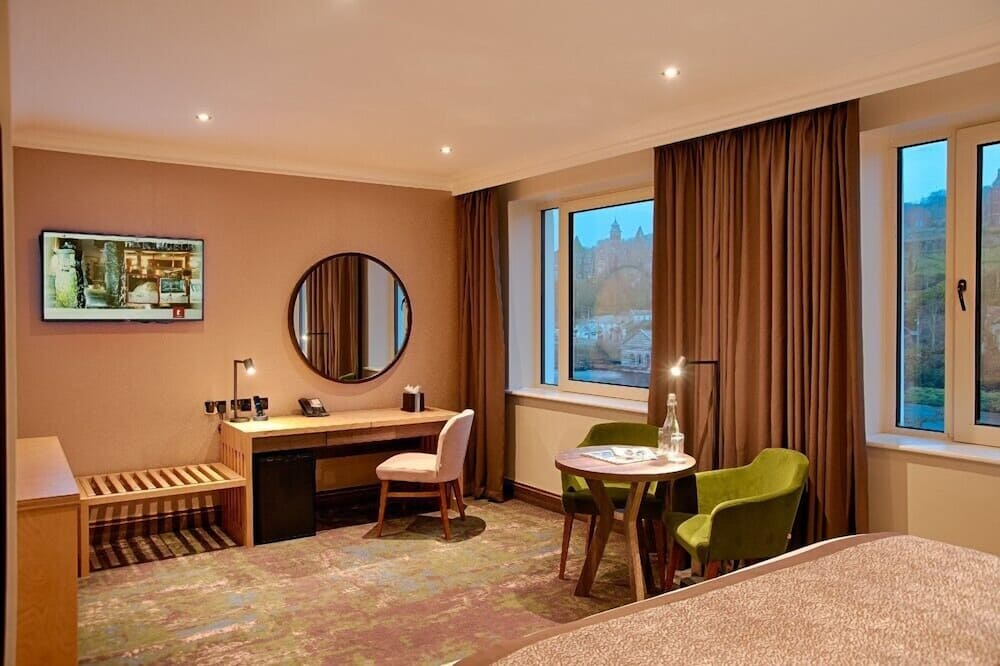 Номер «Делюкс», 1 ліжко «кінг-сайз», з видом на річку - Житлова площа