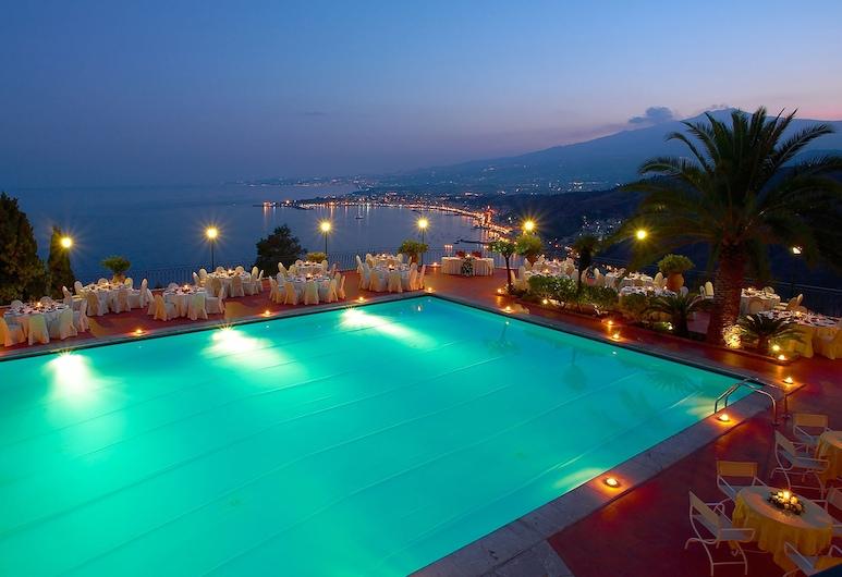 Villa Diodoro Hotel, Taormina, Bazén na střeše