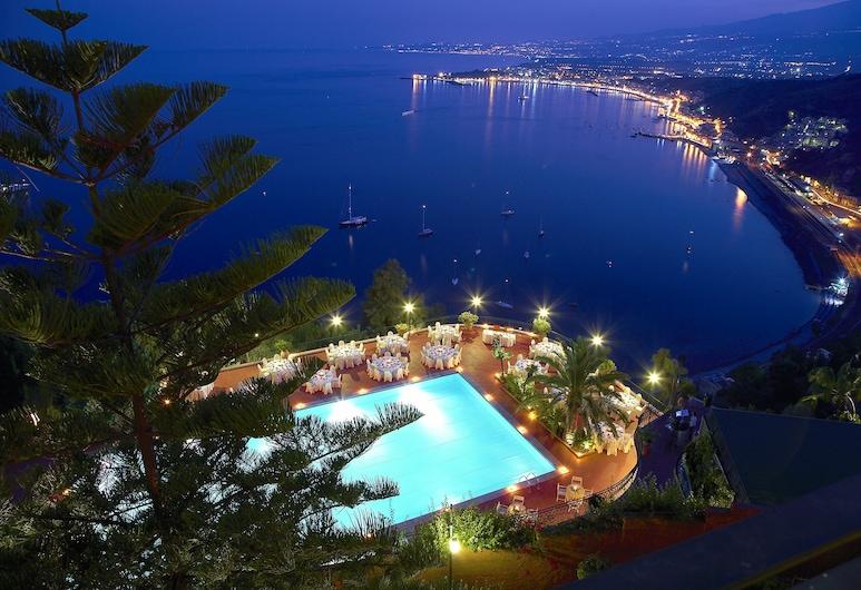 Villa Diodoro Hotel, Taormina, Aerial View