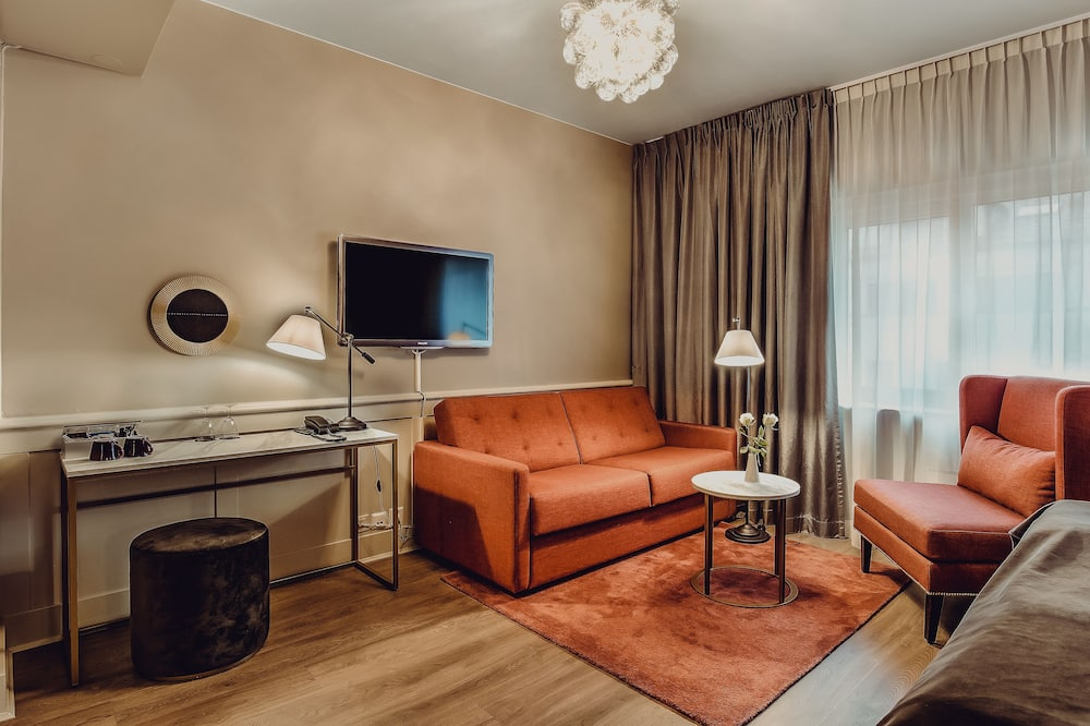 Deluxe Room, Double or Twin (Includes a light evening meal) - Zona de estar