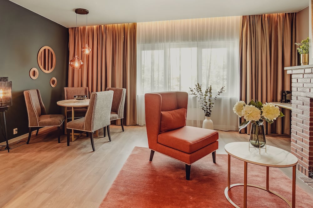 Suite, 1 Double Bed (Includes a light evening meal) - Zona de estar