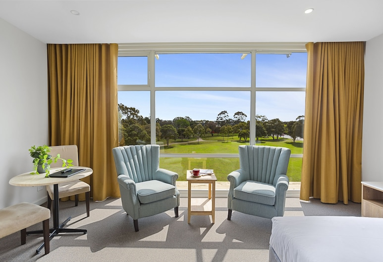 Parkside Motel Geelong, Belmont, Deluxe Suite, 1 Katil Raja (King), Jetted Tub, Pemandangan Bilik Tamu