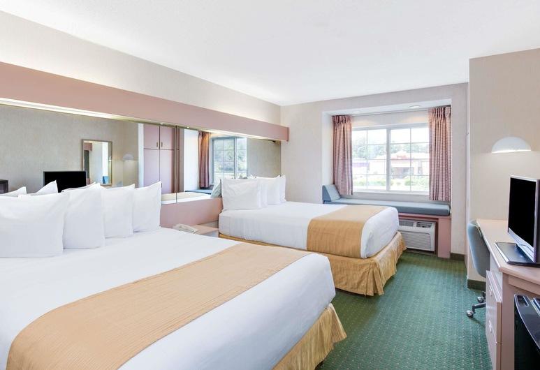 ไมโครเทลอินน์ บายวินด์แฮม กรีนส์โบโร, กรีนส์โบโร, ห้องพัก, เตียงควีนไซส์ 2 เตียง, ปลอดบุหรี่, ห้องพัก