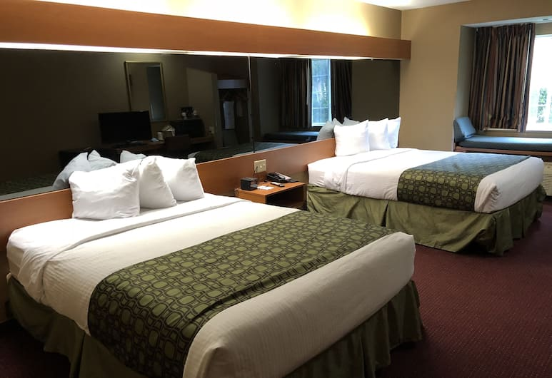 Microtel Inn & Suites by Wyndham Tallahassee, Tallahassee, Oda, 2 Büyük (Queen) Boy Yatak, Engellilere Uygun, Sigara İçilmez, Oda