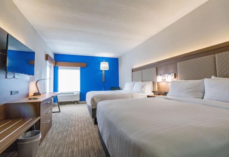 Holiday Inn Express & Suites Brentwood North-Nashville Area, Брентвуд, Номер, 2 двуспальные кровати «Квин-сайз», для людей с ограниченными возможностями (Hearing), Номер