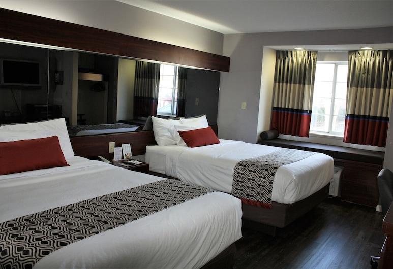 Microtel Inn by Wyndham Atlanta Airport, College Park, Standarta numurs, 2 divguļamās karalienes gultas, Viesu numurs