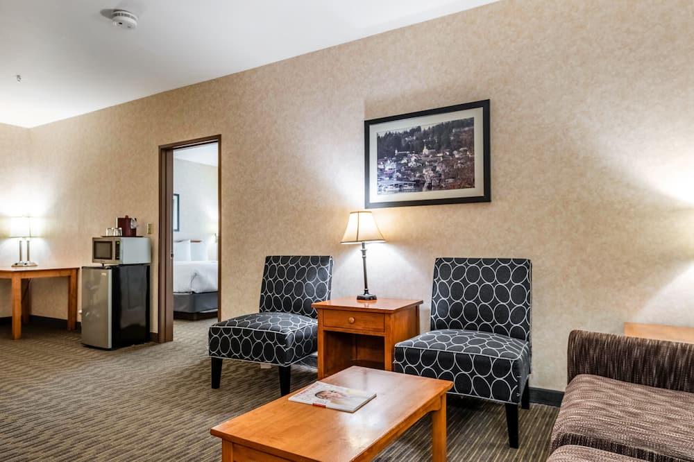 Izba, 1 extra veľké dvojlôžko (Extended) - Obývačka