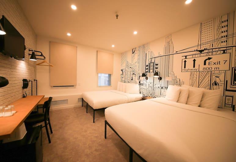 โรงแรมด็อกซี, นิวยอร์ก, ห้องพัก, ห้องพัก