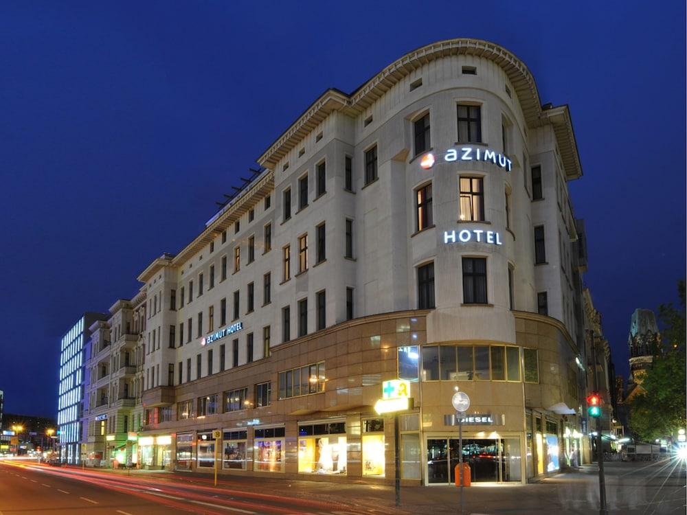 Azimut Hotel Kurfürstendamm Berlin Front