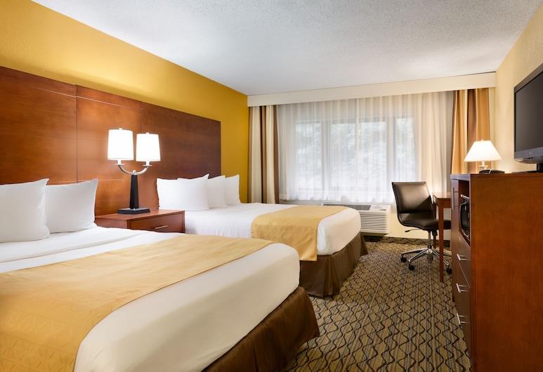 Country Inn & Suites by Radisson, Mishawaka, IN, Mishawaka, Zimmer, 2Queen-Betten, Nichtraucher, Zimmer