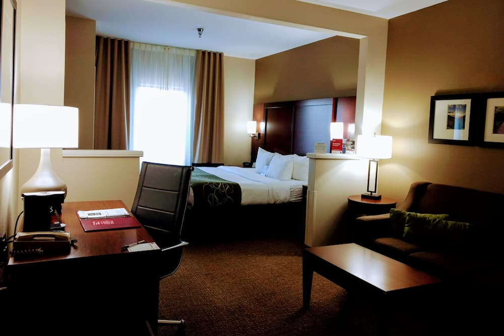 套房, 1 張特大雙人床 - 客房