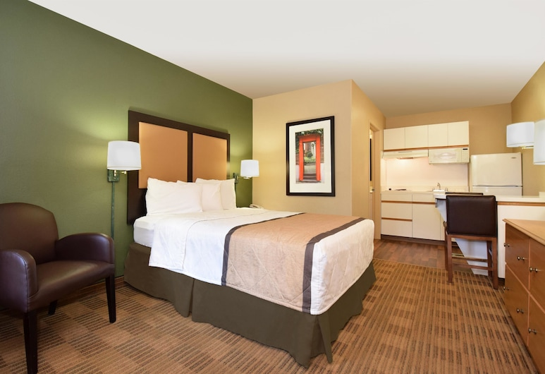 Extended Stay America - Fort Worth - Medical Center, Fort Worth, Monolocale, 1 letto queen, non fumatori, Camera