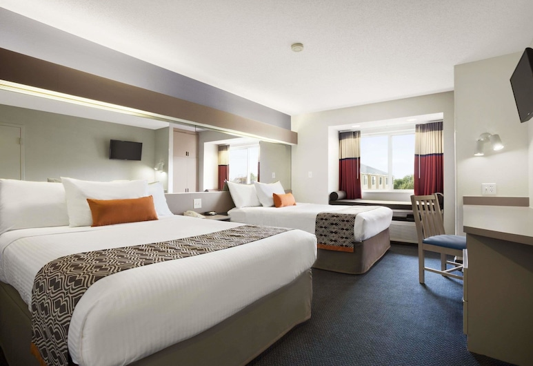 Microtel Inn by Wyndham Louisville East, Louisville, Standard Room, 2 Queen Beds, Non Smoking, Guest Room