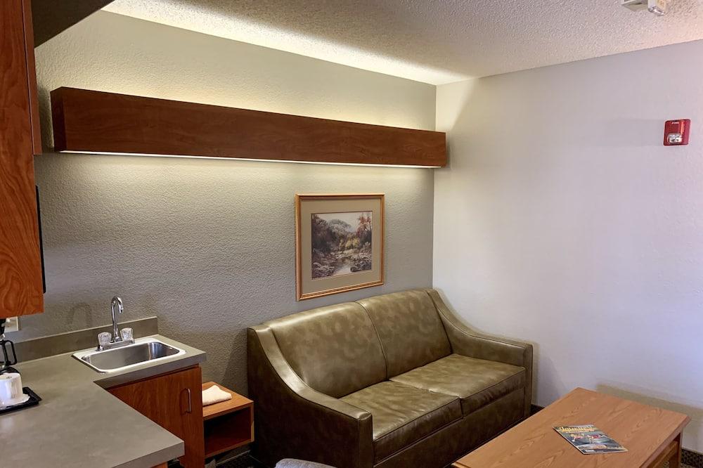 Queen Suite with Sofa Sleeper - Living Area