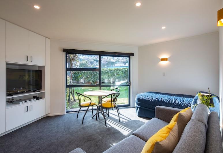 藍峰小屋旅館, 皇后鎮, 公寓, 1 間臥室 (Prepaid), 客廳