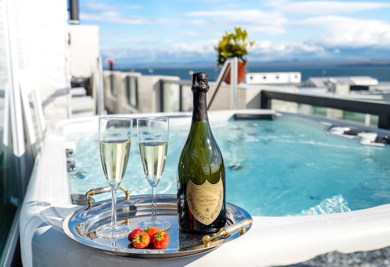 Hotel Keflavik, Reykjanesbaer, Luxury-Suite, Ausblick vom Zimmer