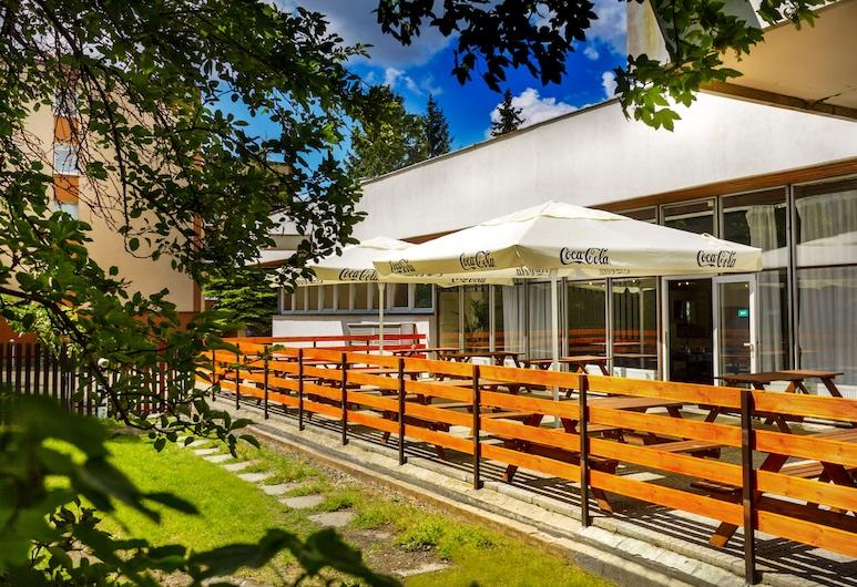 Hotel Uno Prague, Praga, Terraza o patio