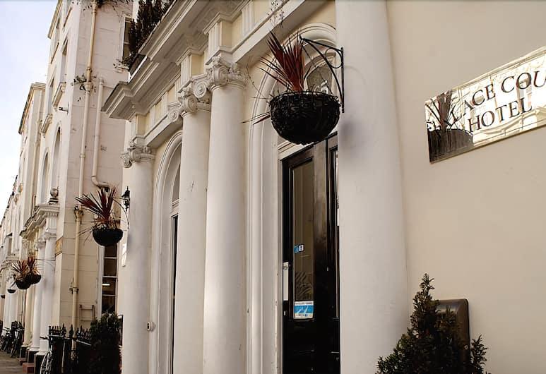 Palace Court Hotel, London, Hotellfasad