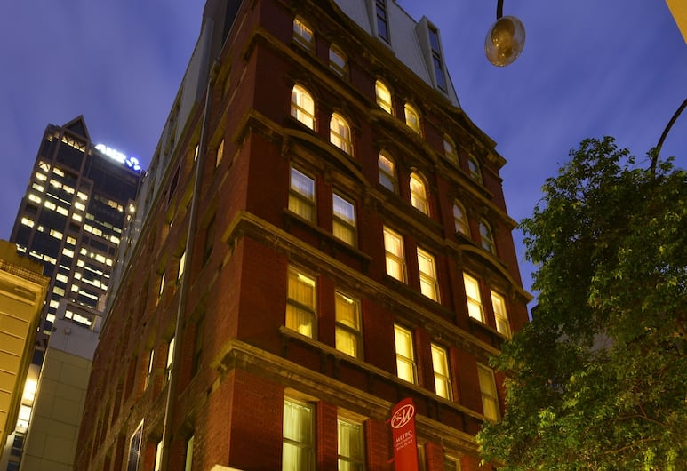 Metro Apartments on Bank Place, Melbourne, Front of property