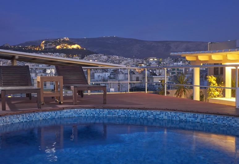 Candia Hotel, Atene, Bar a bordo piscina