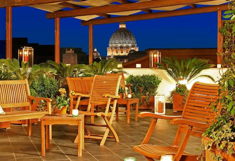 Hotel Arcangelo, Rome, Terrasse/Patio