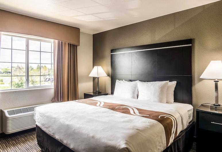 Quality Inn & Suites Westminster - Broomfield, Westminster, Apartament typu Suite, Łóżko king i sofa, dla niepalących (2 Person Sofa bed), Pokój