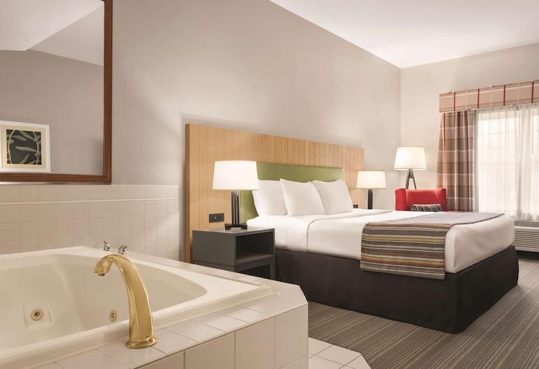 Country Inn & Suites by Radisson, Schaumburg, IL, Schaumburg, Suite, 1King-Bett, Raucher, Whirlpool, Zimmer
