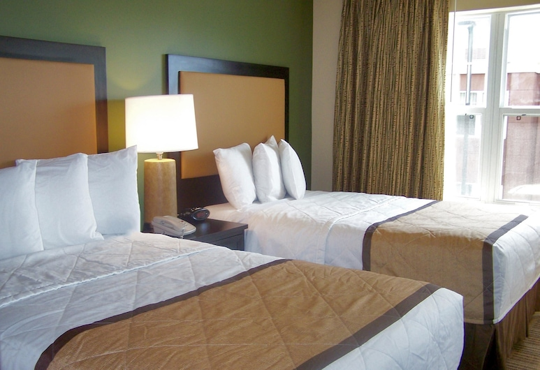 Extended Stay America - Dallas - Vantage Point Dr., Dallas, Studio Deluxe, plusieurs lits, non-fumeurs, Chambre