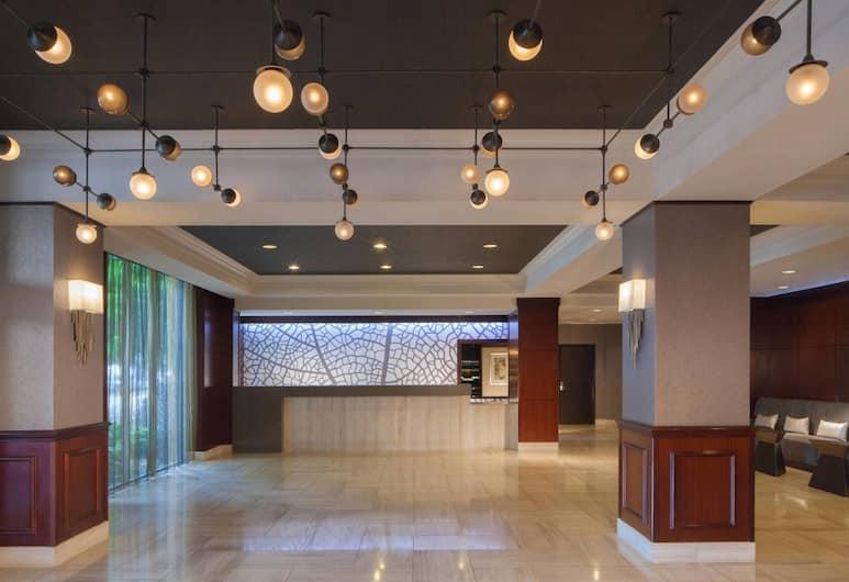 Dallas Marriott Suites Medical/Market Center, Dallas, Vstupní hala