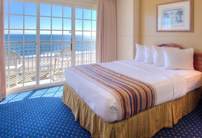 Paradise Plaza Inn, Ocean City, Standard Room, 2 Queen Beds, Oceanfront, Guest Room