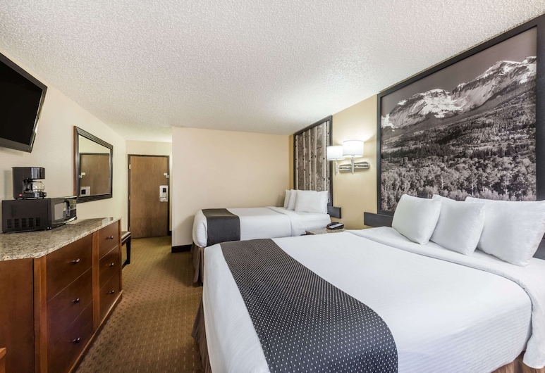 Super 8 by Wyndham Canon City, Canon City, Habitación, 2 camas dobles, para no fumadores, Habitación