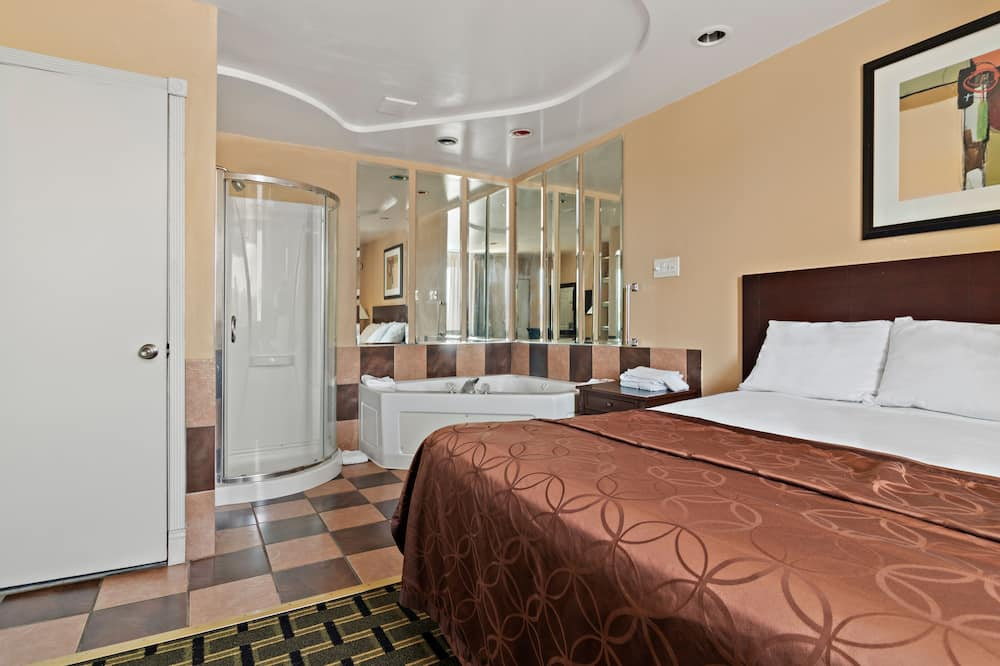 Номер «Премиум», 1 двуспальная кровать «Кинг-сайз» - Гидромассажная ванна