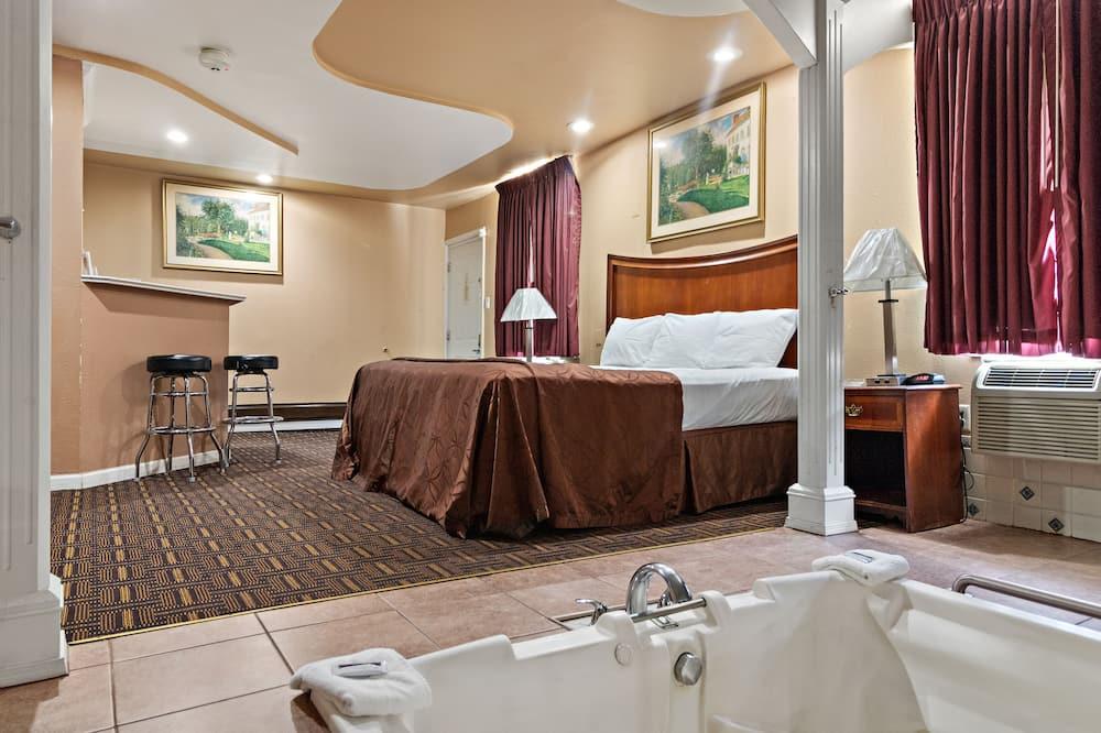 Люкс, 1 двуспальная кровать «Кинг-сайз», гидромассажная ванна - Вид из номера