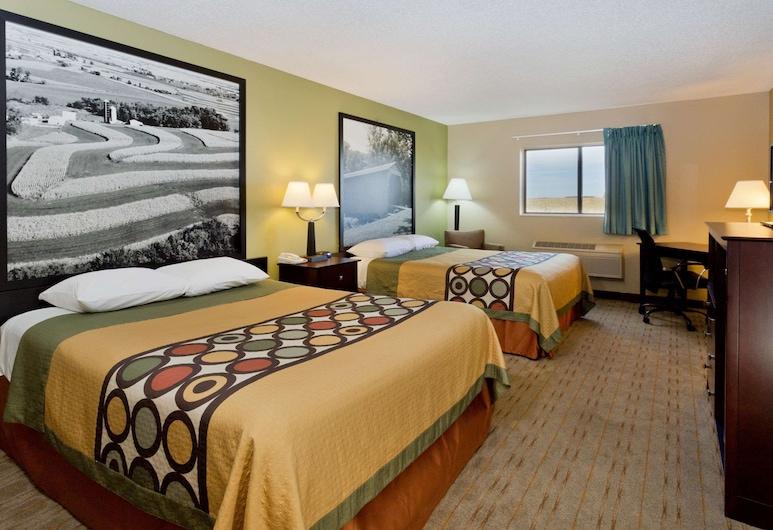 羅謝爾溫德姆速 8 飯店, 羅謝爾, 標準客房, 2 張加大雙人床, 客房