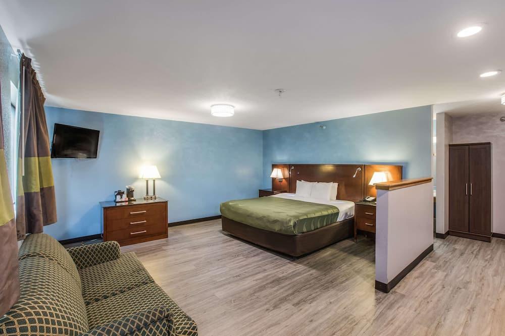 套房, 1 張特大雙人床, 非吸煙房 - 客房