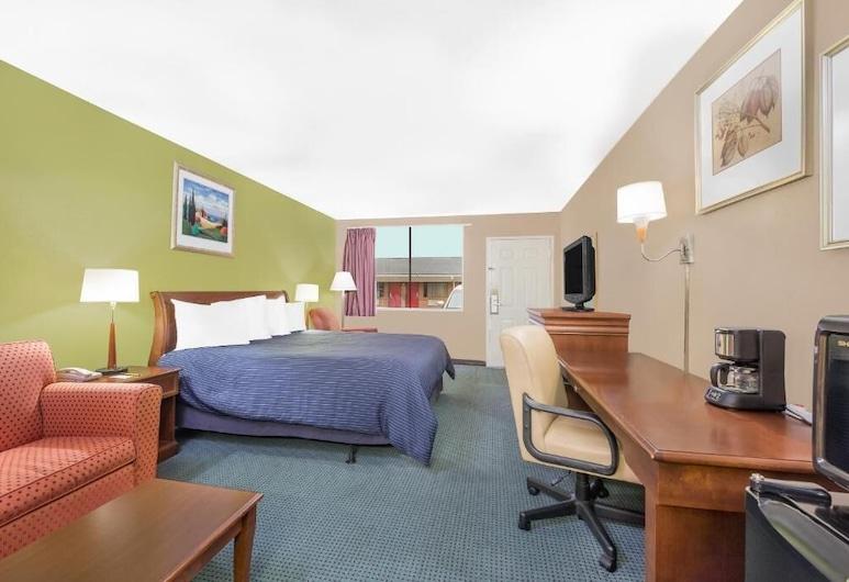 Hotel Express, Anniston, Habitación, 1 cama King size, para no fumadores, refrigerador y microondas, Habitación