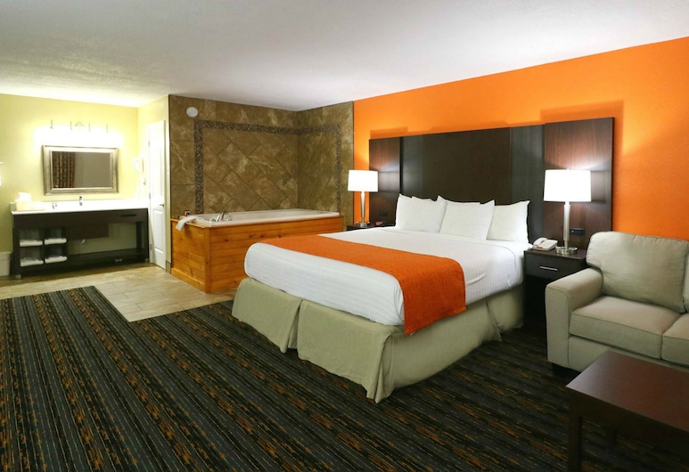 Howard Johnson by Wyndham Pigeon Forge, Pigeon Forge, Suite monolocale Deluxe, 1 letto king, non fumatori, Camera