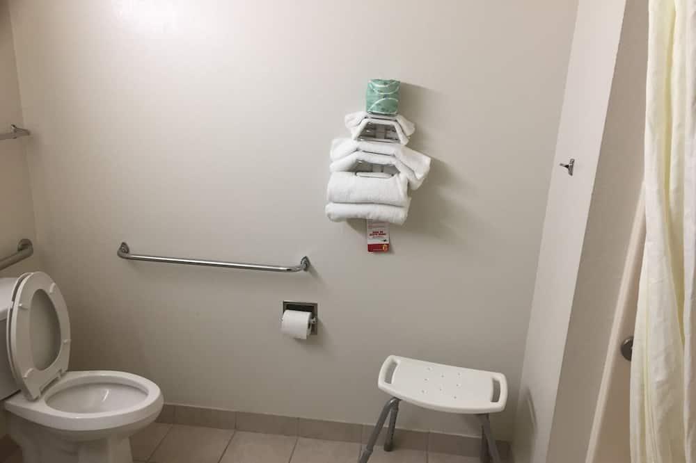 Habitación, con acceso para silla de ruedas - Baño