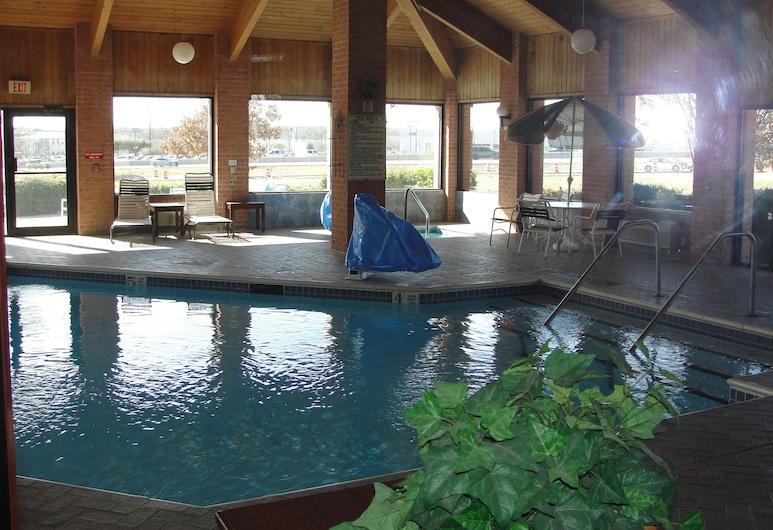 Econo Lodge Inn & Suites, McKinney, Standardzimmer, 1King-Bett, Nichtraucher, Ausblick vom Zimmer