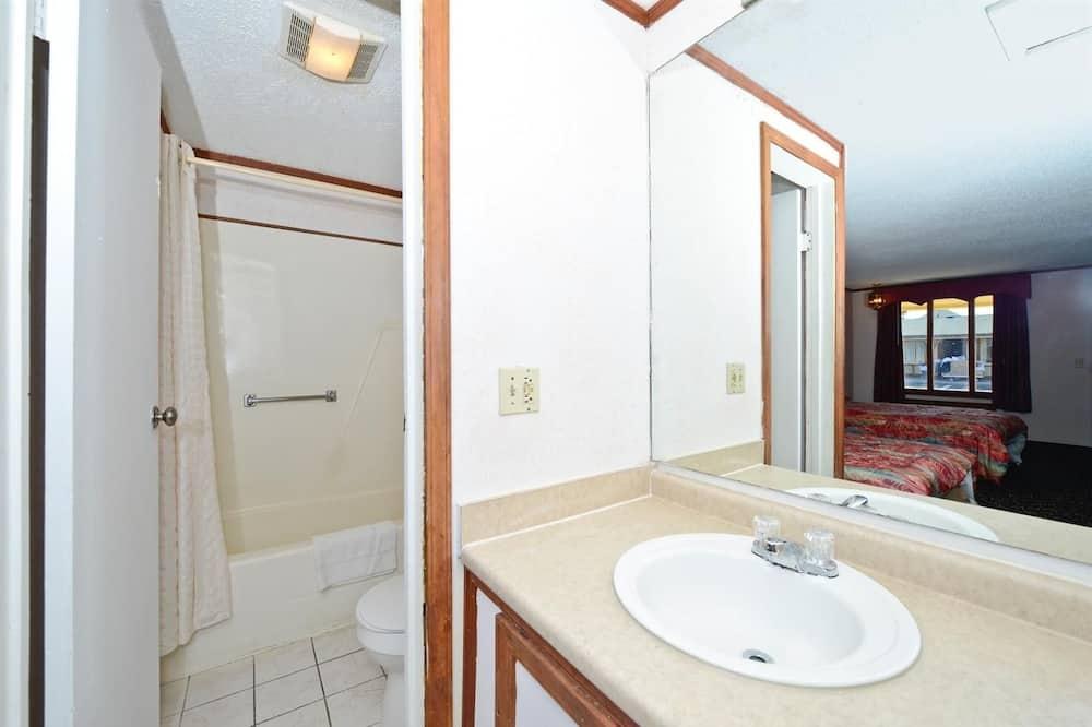 客房, 2 張標準雙人床, 無障礙, 非吸煙房 - 浴室