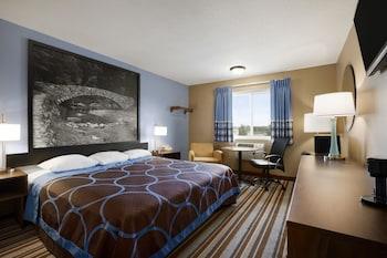 康索布魯夫斯愛荷華奧馬哈區康瑟爾布拉夫斯溫德姆速 8 飯店的相片