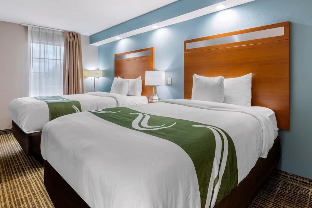 Quarto, 2 camas de casal, Acessível, Não-fumadores - Quarto