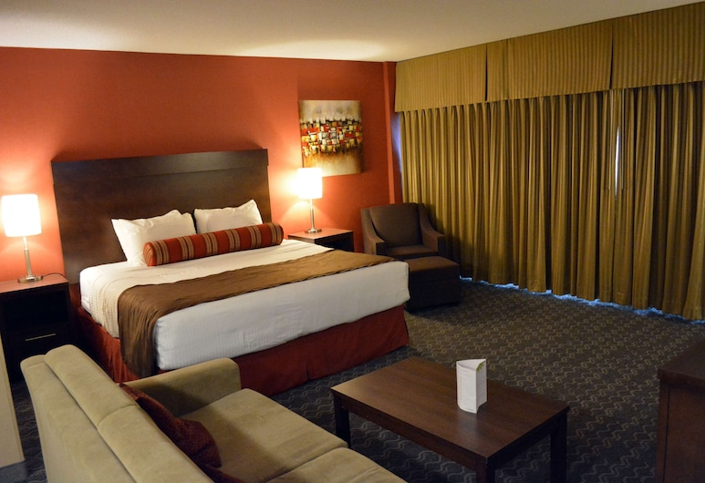 Best Western Terrace Inn, Terrace, Suite, 1 King Bed, Non Smoking, Refrigerator & Microwave, Guest Room
