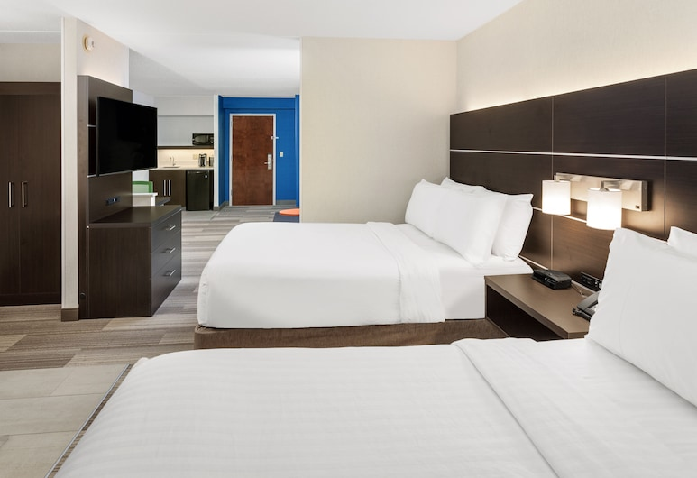 Holiday Inn Express Hotel & Suites South Portland, South Portland, Suite, 2 camas de casal, Não-fumadores (Feature), Quarto