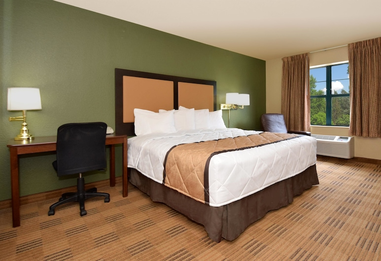 Extended Stay America Grand Rapids - Kentwood, Grand Rapids, Studio, 1 très grand lit, non-fumeurs, Chambre