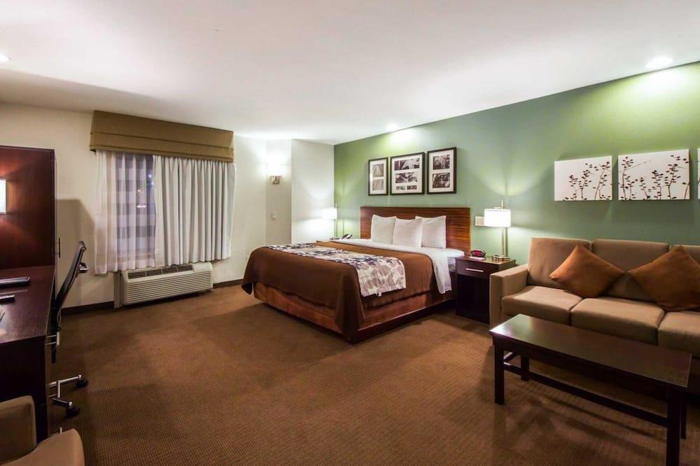 Suite, 1 kingsize bed, niet-roken - Kamer