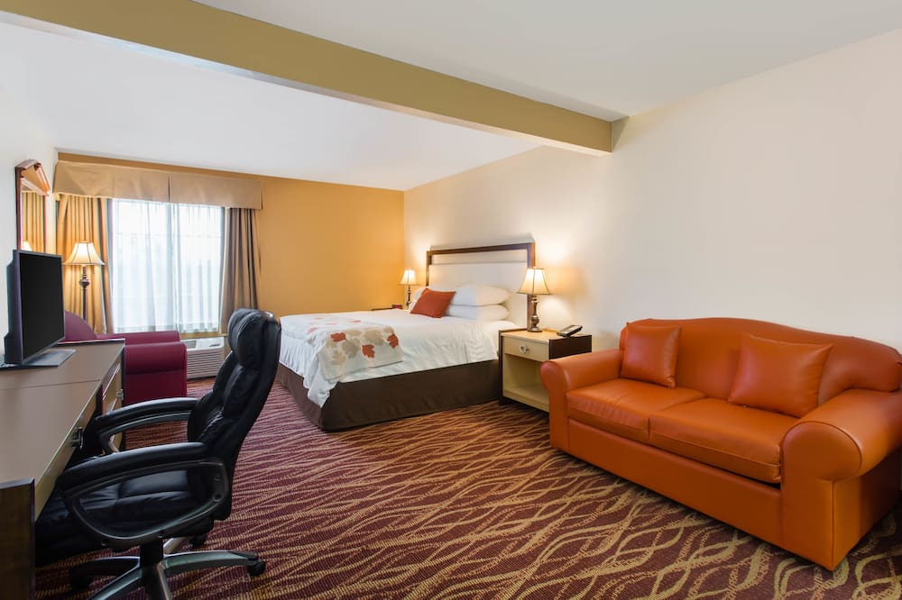 Deluxe Studio Suite, 1 King Bed, Accessible, Non Smoking - Guest Room