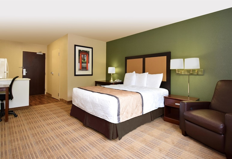 Extended Stay America - Houston - Greenway Plaza, Houston, Studio, 1 grand lit, non-fumeurs, Chambre