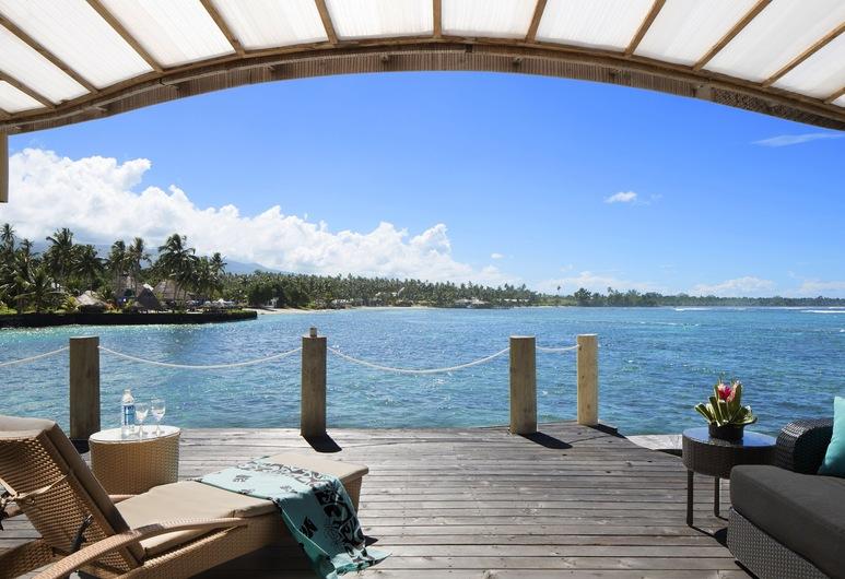 Coconuts Beach Club Resort & Spa, Maninoa, Bungalow, Nổi (Fale), Sân thượng/sân hiên
