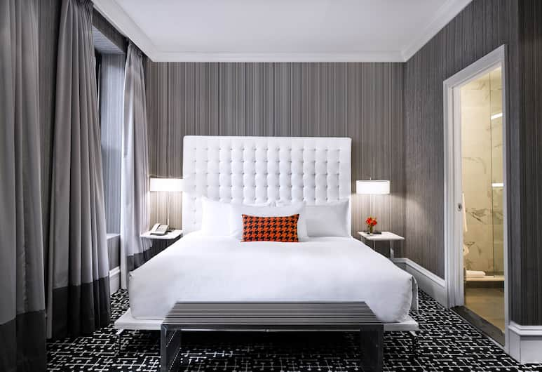 The Moderne, New York, Suite, 1 King Bed with Sofa bed, Guest Room